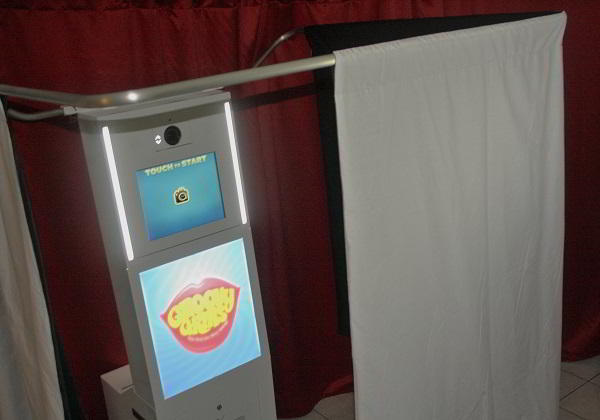 Photobooth enclosed