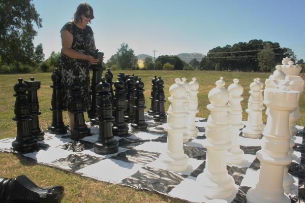 King Size Chess Games